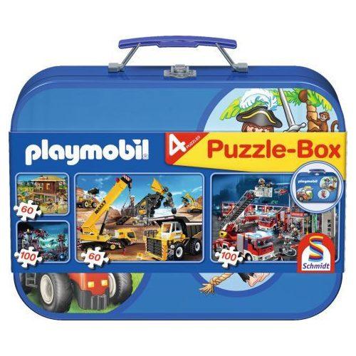 Playmobil box, 2x60, 2x100 db (55599)