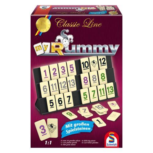 Classic Line Rummy, Nagy játéklapkákkal (49282)