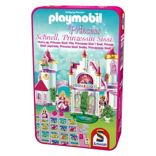 Playmobil hercegnő - Siess Sissi hercegnő! - fémdobozban (51287)