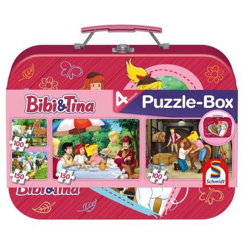 Bibi & Tina, Puzzle-Box, 2x100, 2x150 db (56509)