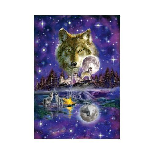 Wolf in the moonlight, 1000 db (58233)