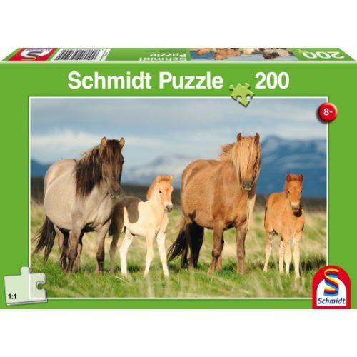 Family of Horses, 200 db (56199)