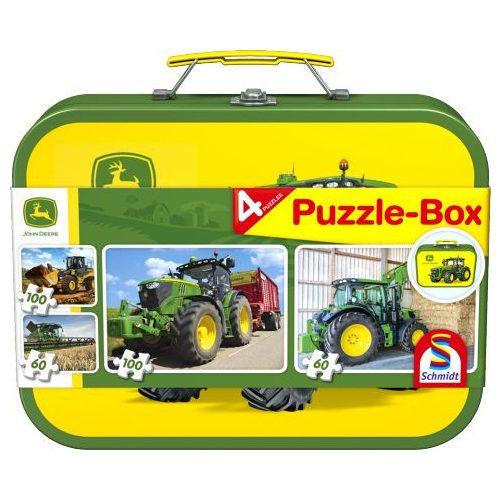 John Deere, Puzzle Box,  2x60, 2x100 db (56497)