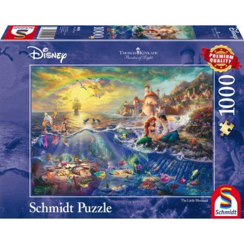 The Little Mermaid, Ariel, Disney, 1000 db (59479)