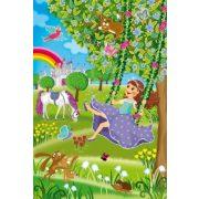 Princess in the castle garden, 3x48 db (56225)
