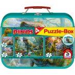 Dinosaurs, Puzzle Box, 2x60, 2x100 db (56495)
