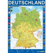 Map of Germany, 1000 db (58287)