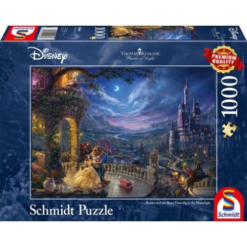 Disney Die Schöne und das Biest, 1000 db (59484)