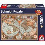 Ancient World Map, 3000 db (58328)