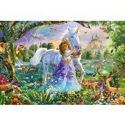Princess, unicorn and castle, 150 db (56307)