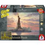 Statue of Liberty in the twilight, Glow in the Dark 1000 db (59498)
