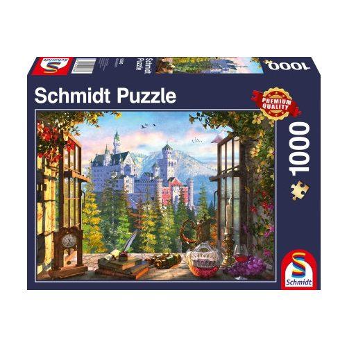 Blick aufs Märchenschloss, 1000 db  (58386)