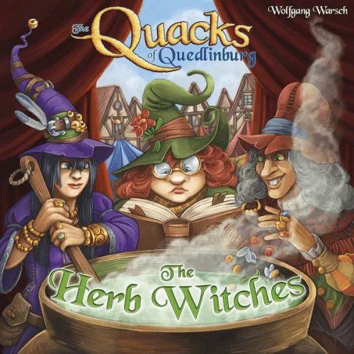 The Quacks of Quedlinburg - The Herb Witches - Kuruzslók kiegészítő - angol nyelvű (88232)