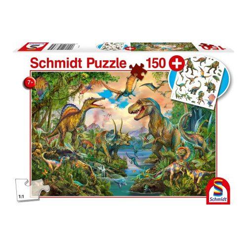 Wild dinosaurs, 150 db (56332)
