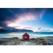 Hut at the Atlantic coast, 1000 pcs (58395)