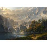 Pastoral waterfall, 1000 pcs (58399)
