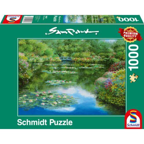 Water lily pond, 1000 pcs (59657)