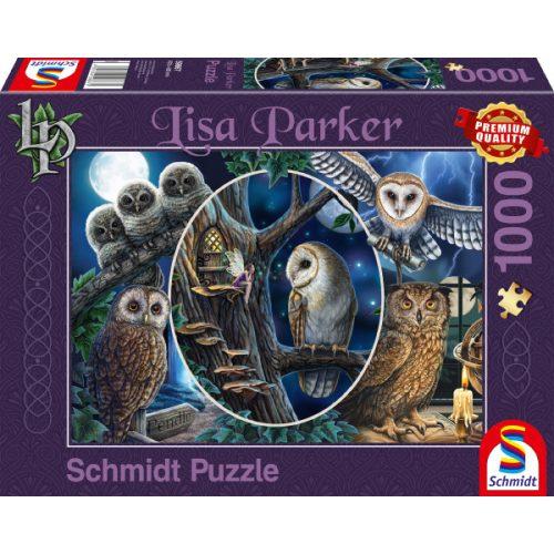 Mysterious owls, 1000 pcs (59667)