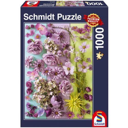 Violet blossoms, 1000 pcs (58944)
