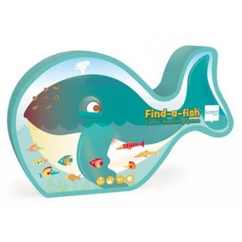 Találd meg a halat!