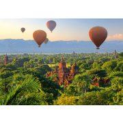 Hot air balloons, Mandalay, Myanmar, 1000 db (58956)