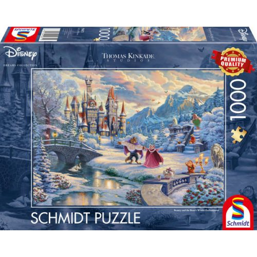 Disney, Beauty and the Beast's Winter Enchantment, 1000 db (59671)