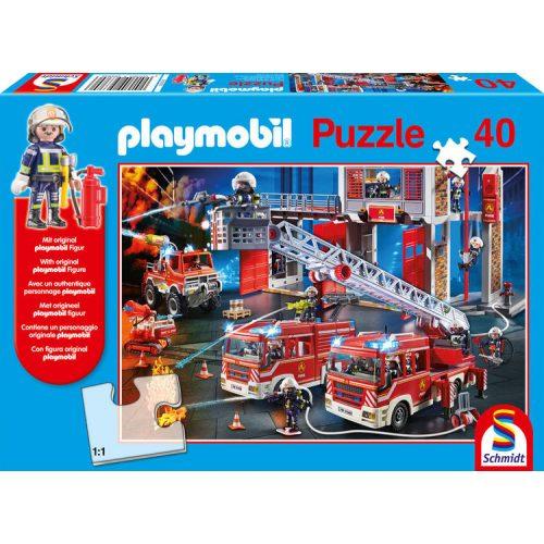 Playmobil, Firebrigade, 40 db (56380)
