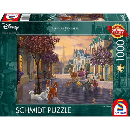 Disney, The Aristocats, 1000 db (59690)