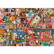 Vintage board games, 1000 db (59900)