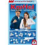 Kniffel -  Kockapóker bőr dobópohárral (49030)
