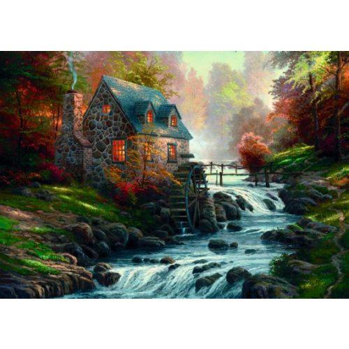 Cobblestone Mill, Thomas Kinkade, 1000 db (57486)