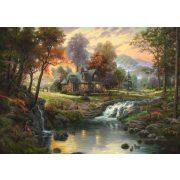 Mountain Retreat, Thomas Kinkade, 1000 db (58445)