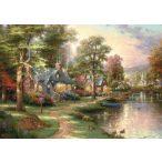 Hometown Lake, Thomas Kinkade, 1500 db (57452)