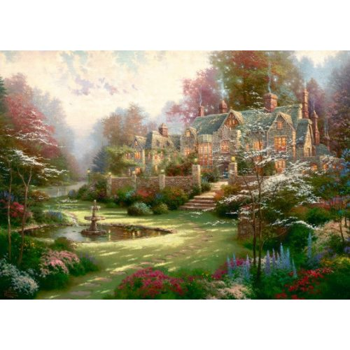Gardens beyond Spring Gate, Thomas Kinkade, 2000 db (57453)