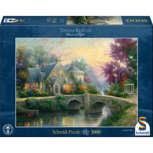 Lamplight Manor, Thomas Kinkade, 3000 db (57463)